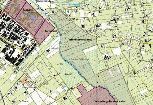 Ook natuurherstel in het Utrechtse deel van het Binnenveld