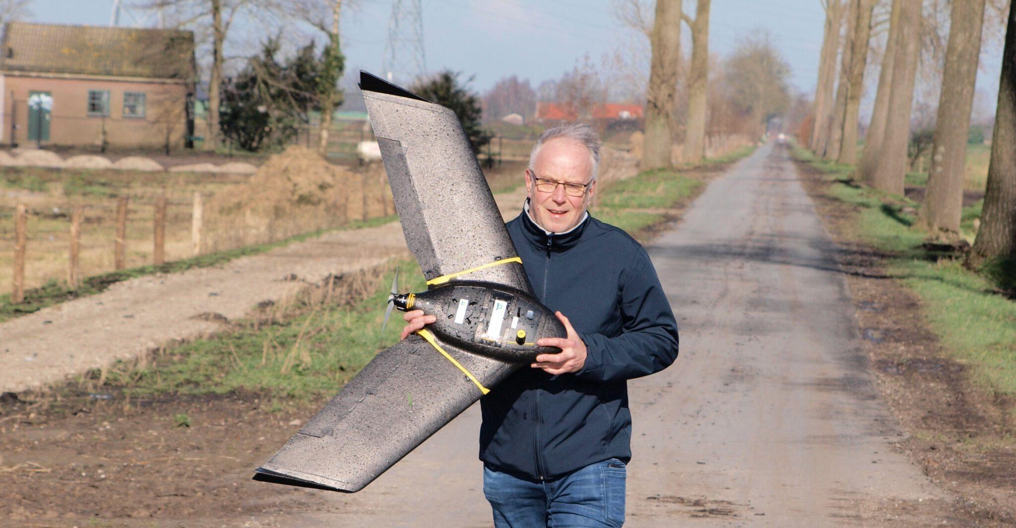 Met drones vegetatiestructuur classificeren in het Binnenveld